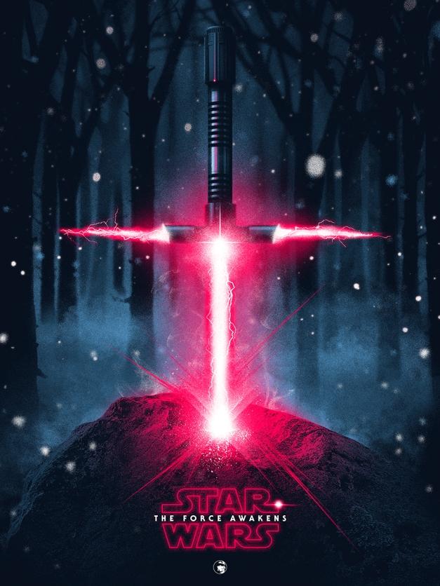 Star Wars The Force Awakens Fan Poster 4