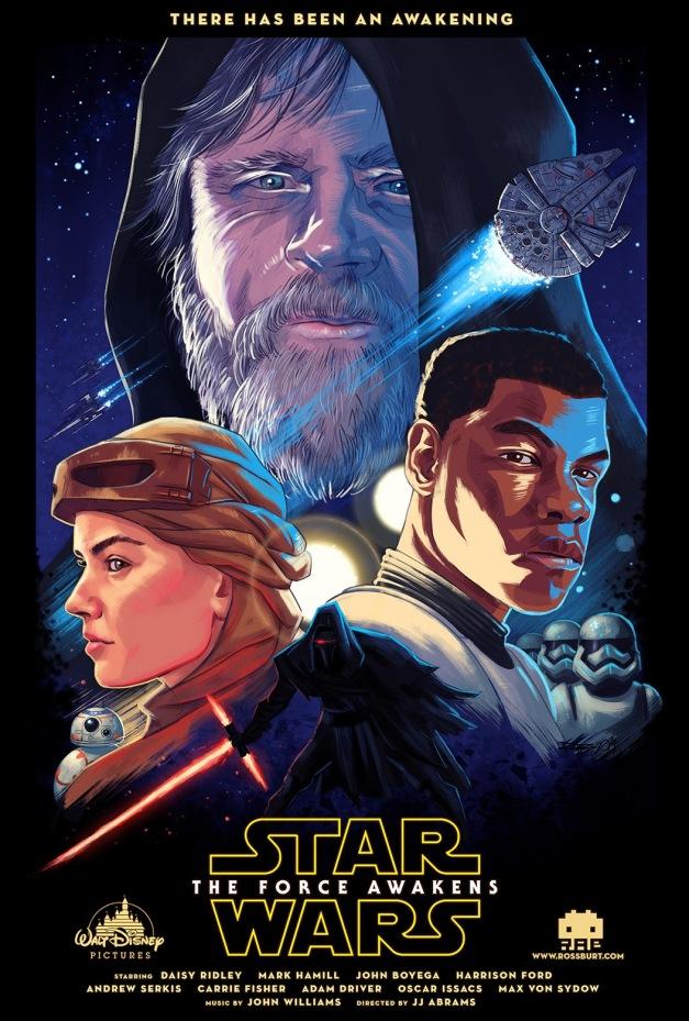 Star Wars The Force Awakens Fan Poster 5