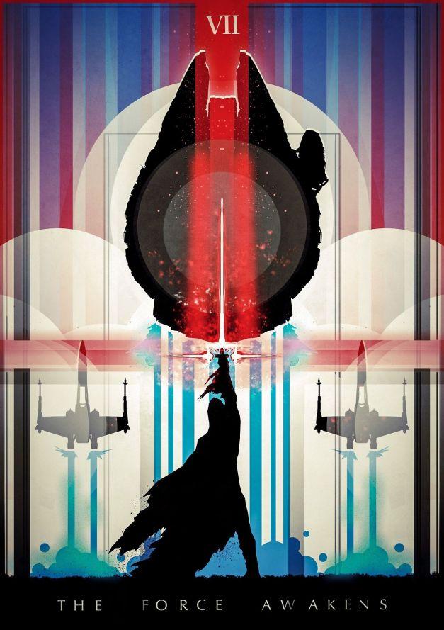 Star Wars The Force Awakens Fan Poster 6