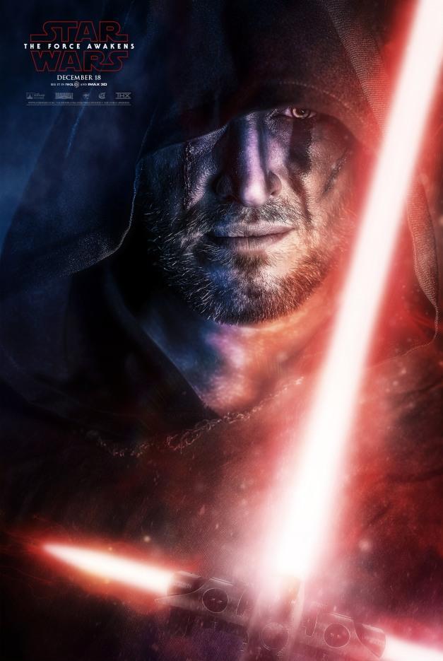 Star Wars The Force Awakens Fan Poster 7