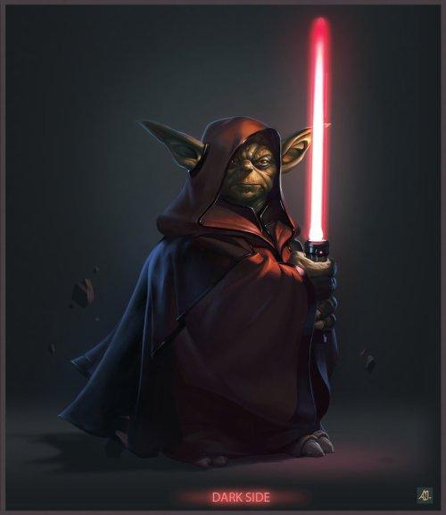 Star Wars Yoda Dark Side