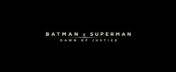 Batman v Superman Dawn of Justice Image 1