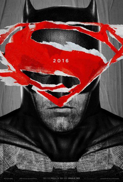 Batman v Superman Dawn of Justice Poster #1