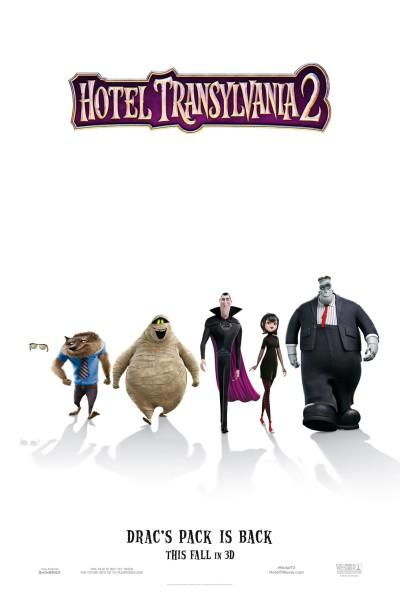 Hotel Transylvania 2 Poster