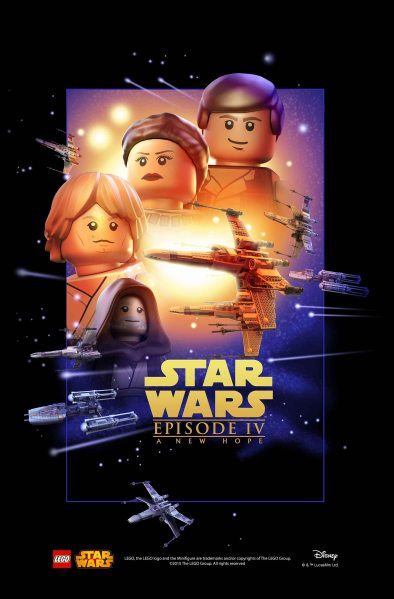 Star Wars Lego A New Hope Poster