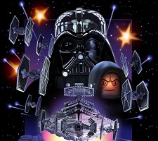 Star Wars Lego Movie Posters
