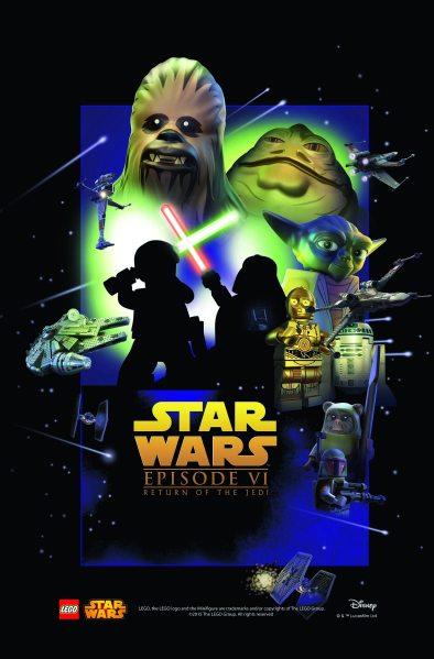 Star Wars Lego Return of the Jedi Poster