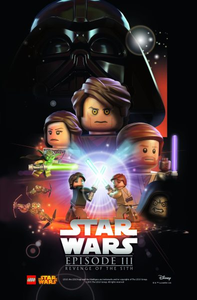Star Wars Lego Revenge of the Sith Poster