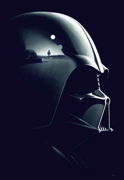 Star Wars Vader Poster