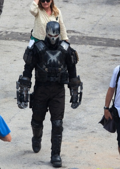 Captain America Civil War Set Image Frank Grillo as Crossbones  #1