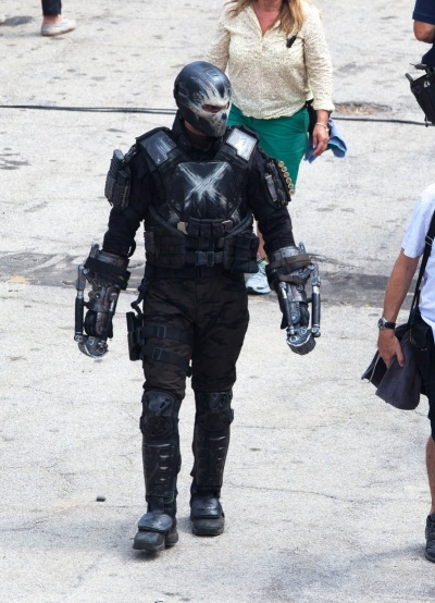 Captain America Civil War Set Image Frank Grillo as Crossbones  #2