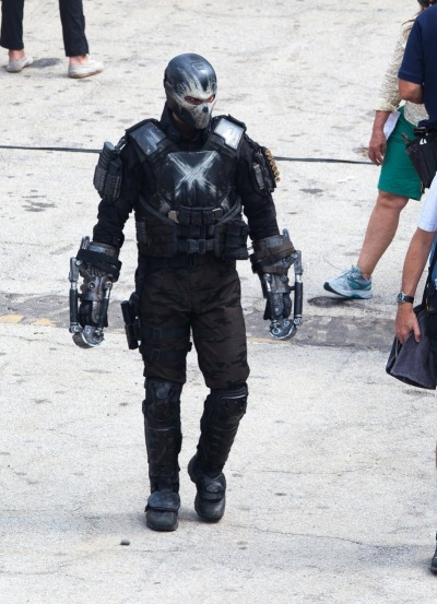 Captain America Civil War Set Image Frank Grillo as Crossbones  #3