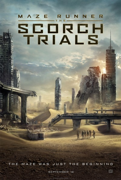 Maze Runner The Scorch Trials Poster #1