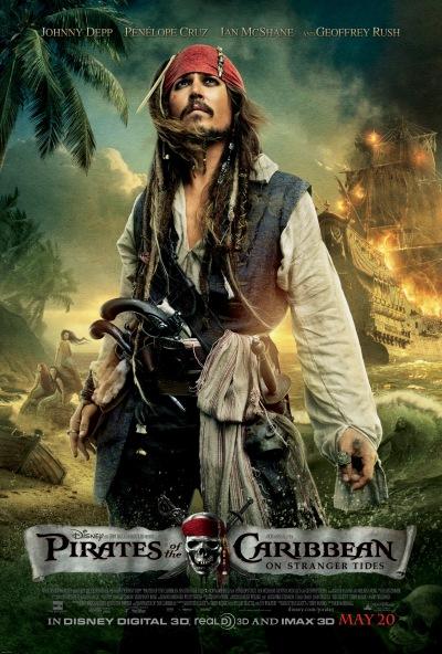 Pirates of the Caribbean On Stranger Tides Poster #3