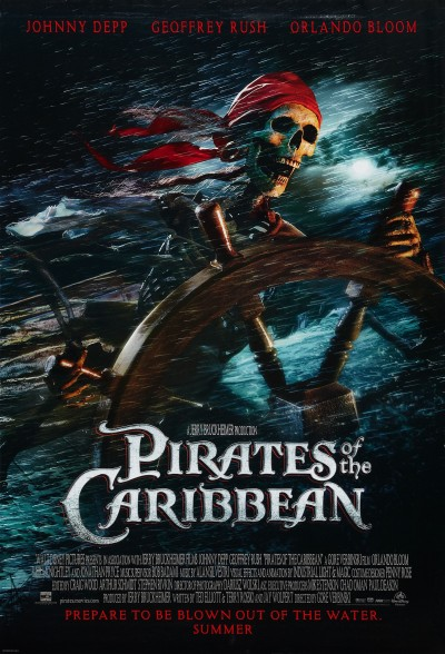 Pirates of the Caribbean The Curse of the Black Pearl Poster #1