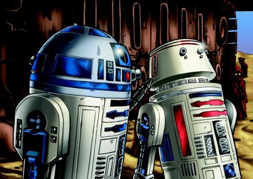 Star Wars Art by Matt Busch #1