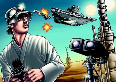 Star Wars Art by Matt Busch #3