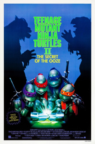 Teenage Mutant Ninja Turtles II The Secret of the Ooze Poster