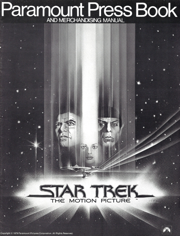 Star Trek The Motion Picture Press Book #1