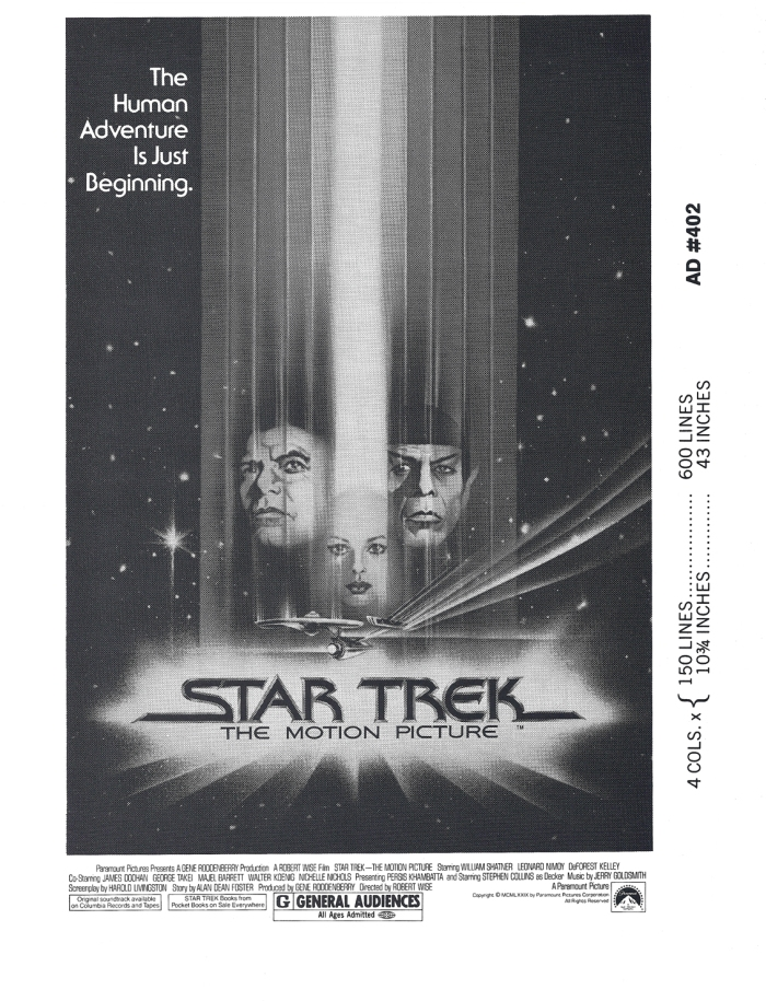 Star Trek The Motion Picture Press Book #6