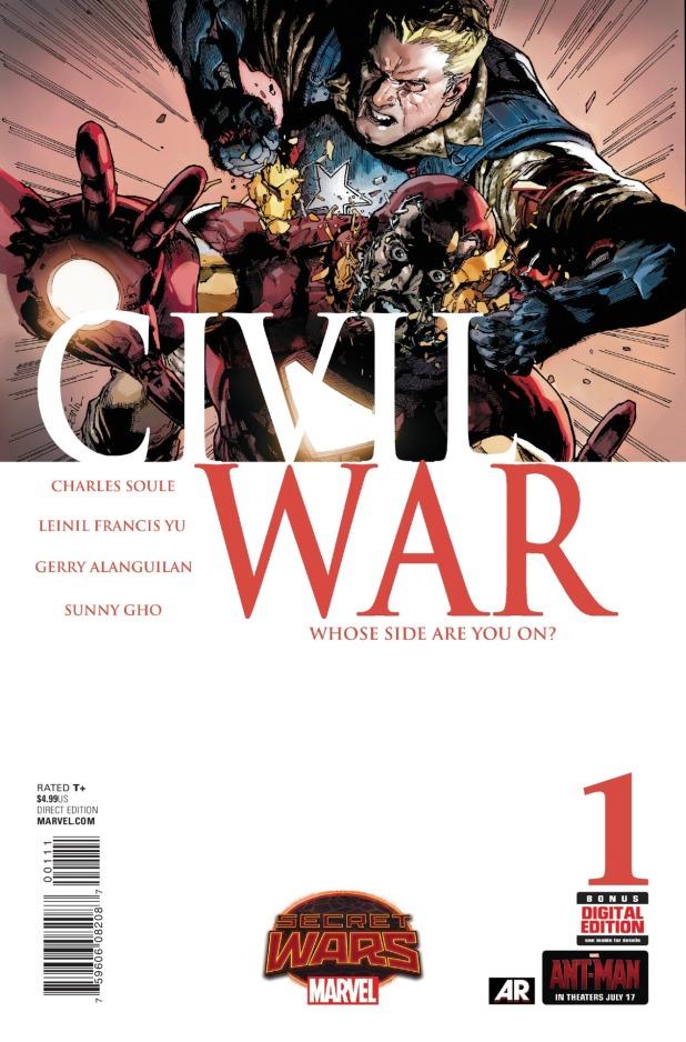 Civil War #1 Cover A