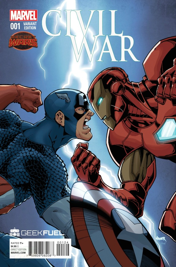 Civil War #1 Cover C