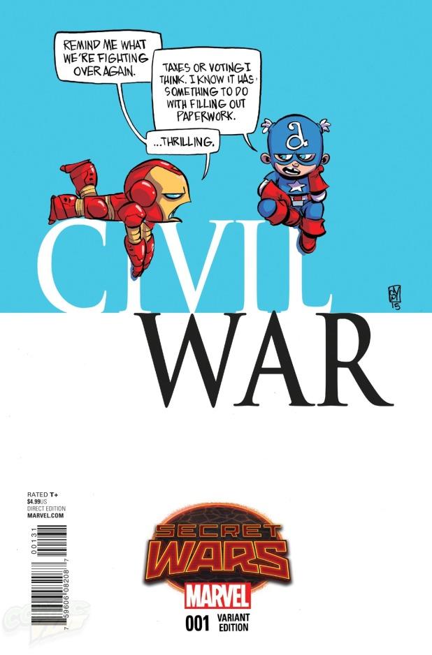 Civil War #1 Cover D