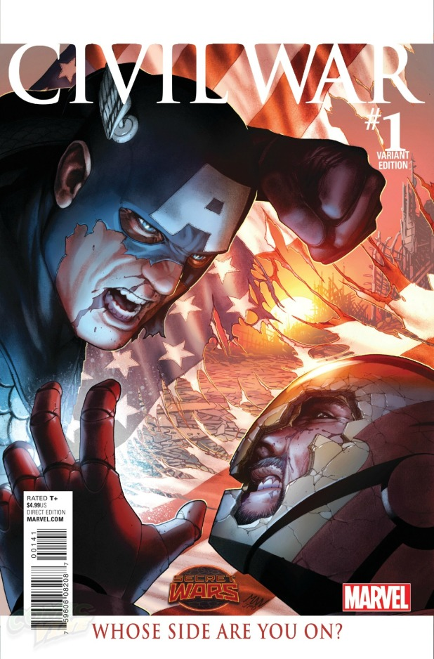 Civil War #1 Cover E