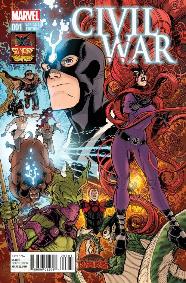 Civil War #1 Cover G