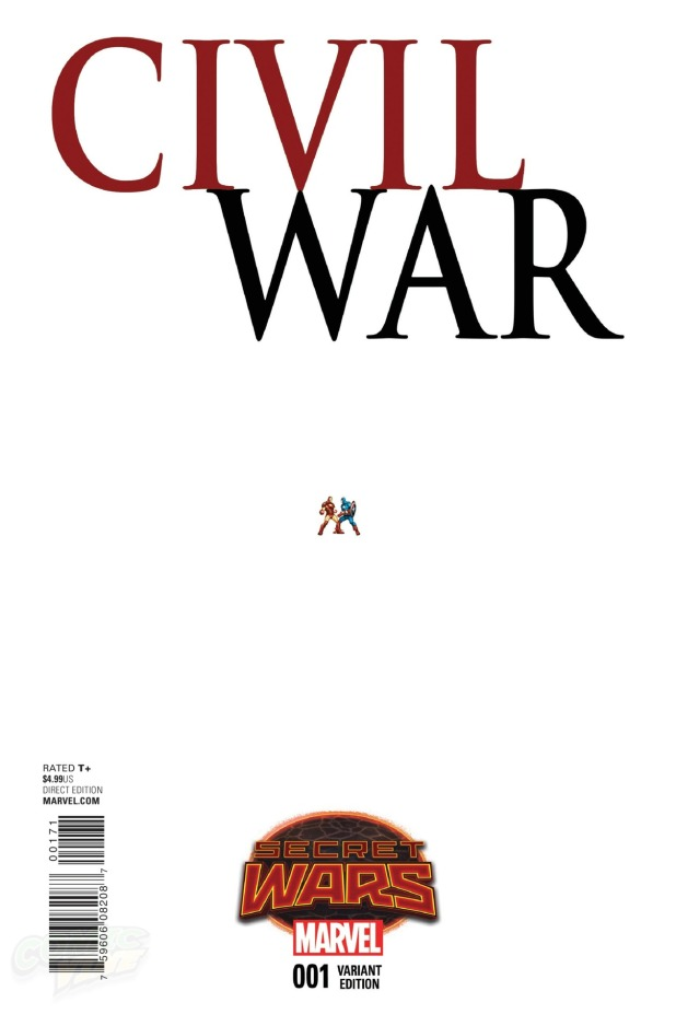 Civil War #1 Cover H