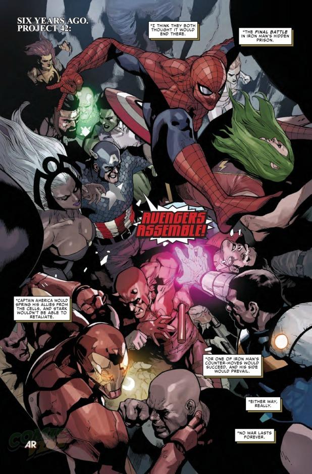 Civil War #1 Page 2