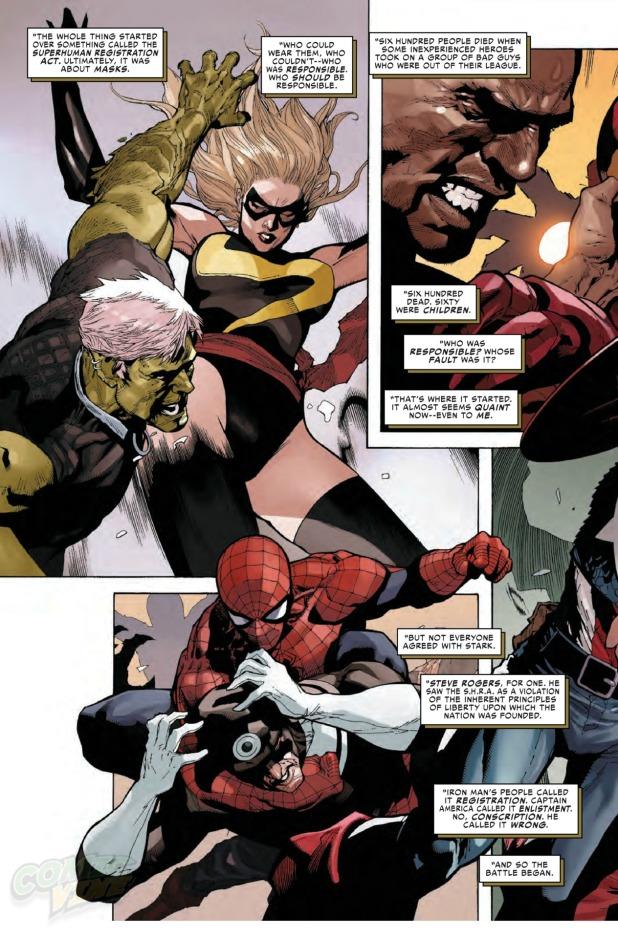 Civil War #1 Page 3