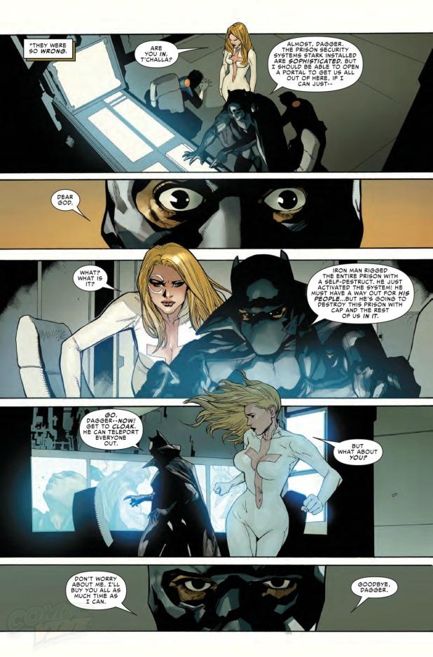 Civil War #1 Page 5