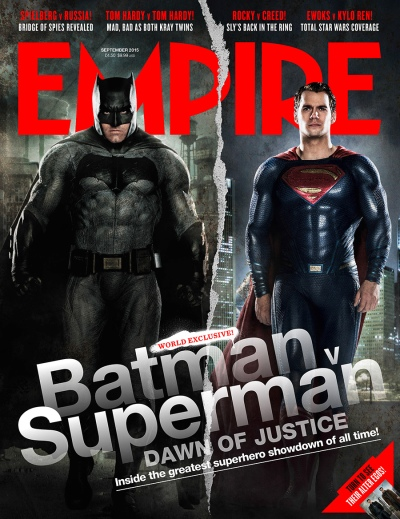 Empire Magazine Cove Batman v Superman
