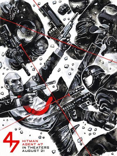 Hitman Agent 47 Alternate Poster #2
