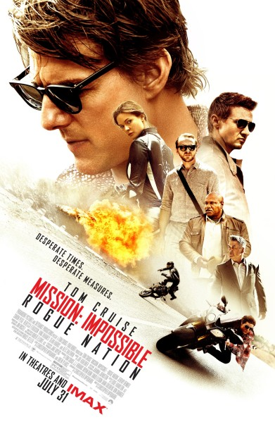 Mission Impossible - Rogue Nation Poster #9