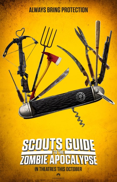 Scout's Guide to the Zombie Apocalypse Poster #1