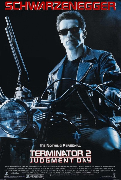 Terminator 2 Judgment Day Poster #1