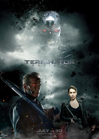 Terminator Genisys Fan Poster