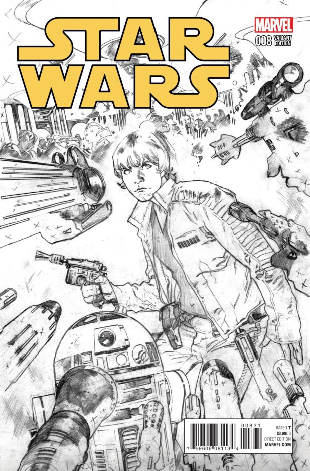 Star Wars #8 Cover 3
