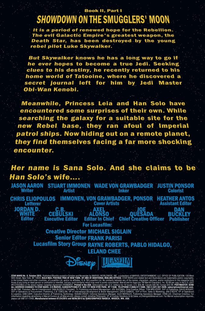 Star Wars #8 Page 1