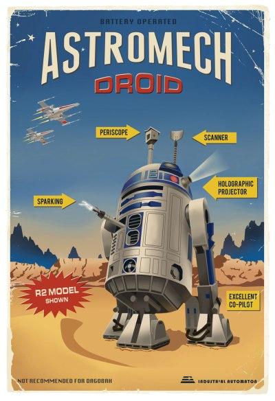 Star Wars Astromech Droids Poster