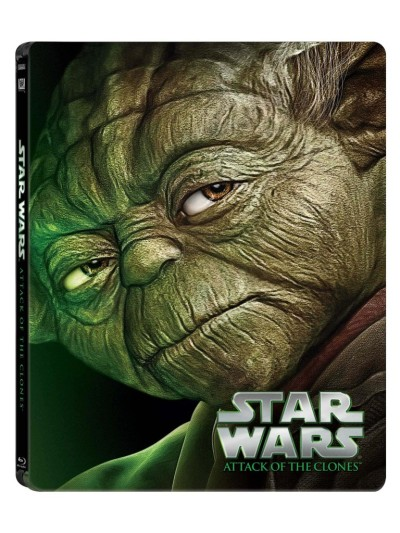 Star Wars Attack of the Clones Blu-ray