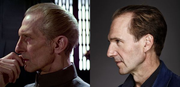 Star Wars Peter Cushing Ralph Fiennes
