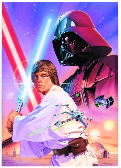 Star Wars Poster Art by Robert Hendrickson