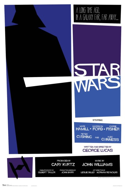 Star Wars Poster by Russell Walks 1A