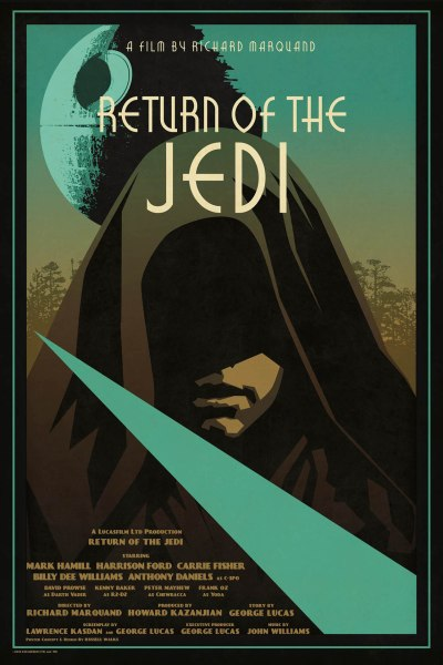 Star Wars Return of the Jedi by Russell Walks
