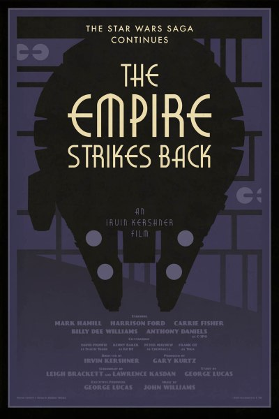 Star Wars The Empire Strikes back by Russell Walks
