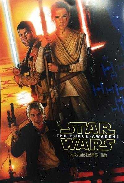 Star Wars The Force Awakens Poster A