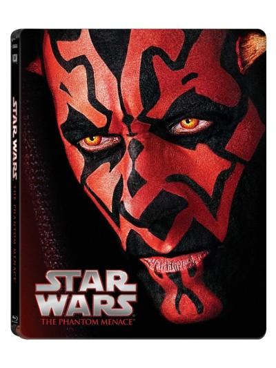 Star Wars The Phantom Menace Blu-ray